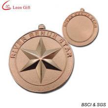 Medalla militar cobre personalizada barata (LM1263)
