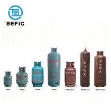 lpg gas cylinder prices refillable bottled 9kg/12kg/12.5kg/15kg cooking