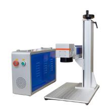 Portable 30 watt fiber laser marking machine for plastic 50w