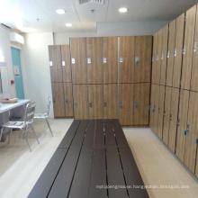 hpl locker for gym locker room furniture