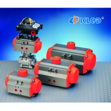 AT series KLQD brand rotary single acting pneumatic actuator