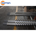 Paralel Twin Screw Barrel For Pvc Compound