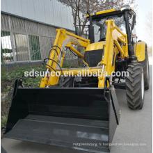 Chargeur frontal de tracteur de jardin largement utilisé en allemand