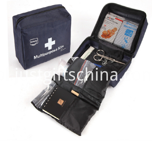 Promotional Dark Blue Color Multipurpose First Aid Kits