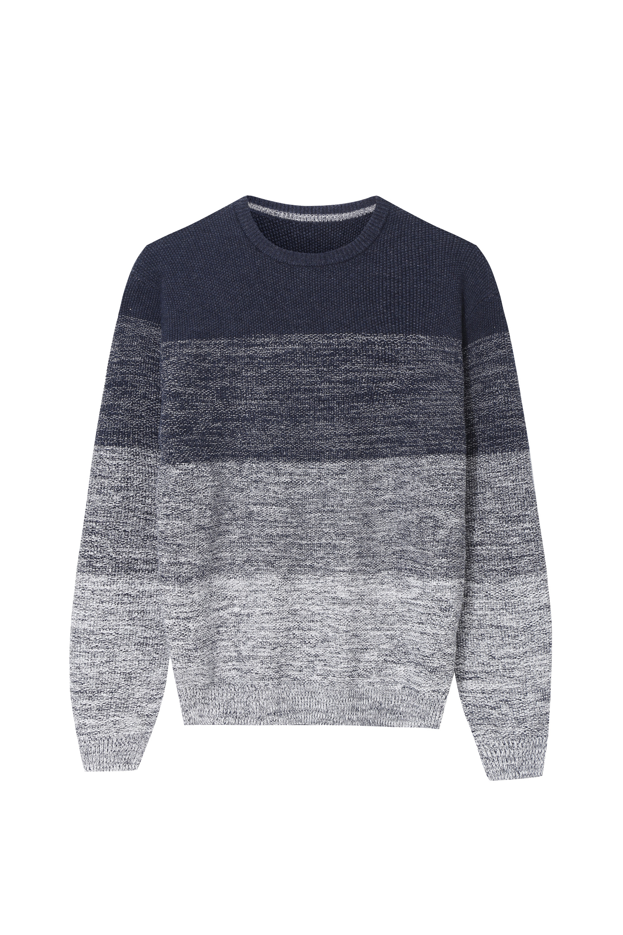 Men's Colour block design Crew-Neck Sweater