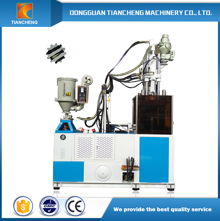 Single Slide Table Vetical Injection Machine