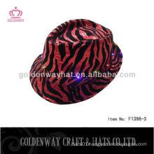 leopard LED party hat
