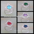 silver jewelry price of 1 carat diamond prong setting ring for women