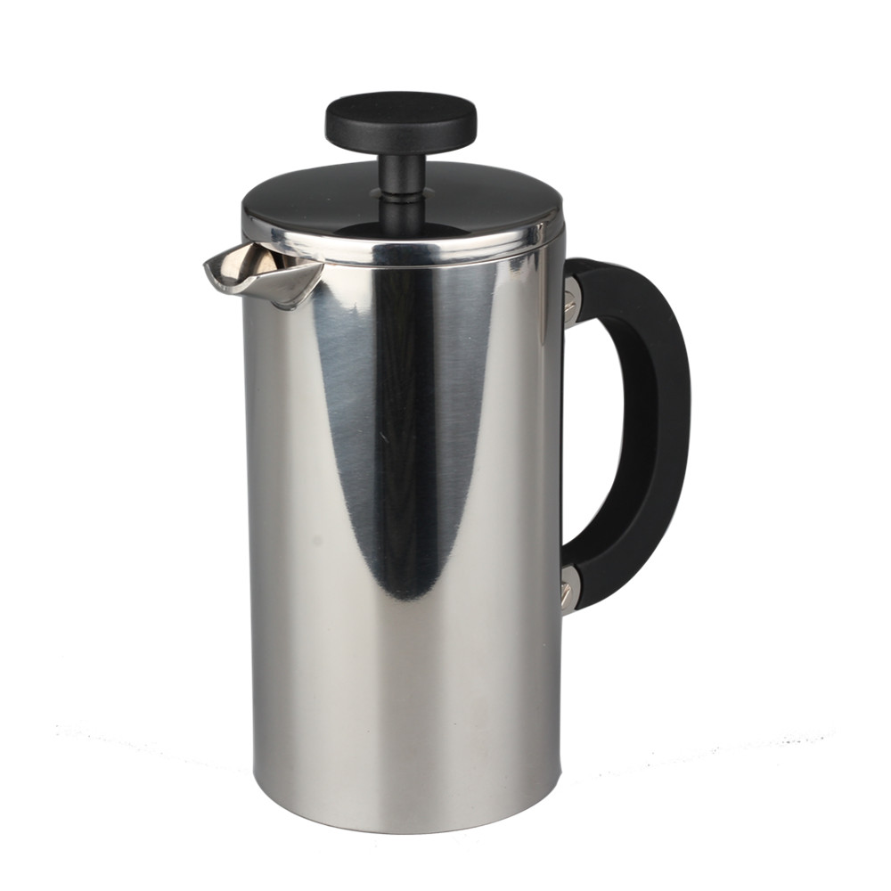Double Wall French Press With Heat Resistant Handle