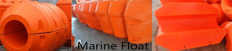 Marine concrete float