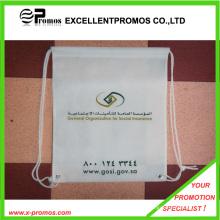 Custom atacado poliéster saco Drawstring baratos (Ep-B90210