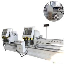 LJZ2-CNC-500X4200 cnc door window aluminum double head cutting saw