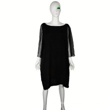 Haute Couture Dress 2016 Breathable Loose Dress With Georgette Sleeves Dress