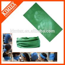 Seamless multifunctional customized neck tube scarf bandana