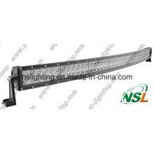 Auto-Licht-Stange 288W 4X4 CREE LED, gebogene LED-Lichtleiste weg von der Straße, Bogen-Bogen des Auto-LED heller