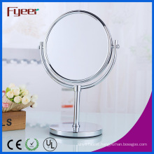Fyeer Double Side Cosmetic Mirror Magnifying Brass Makeup Mirror
