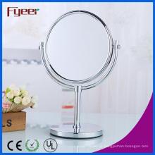 Fyeer Double Side Cosmetic Espelho Magnifying Brass Maquiagem Espelho