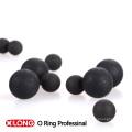 Гибкий черный NBR 70 Резиновый шнур / полоска для герметизации