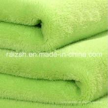 Gefärbte Polyester Flanell / Korallen Fleece / Stoff für Bekleidung, Heimtextilien