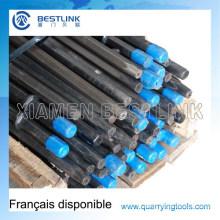 Hexagon 108mm Taper Drill Steel für den Bergbau