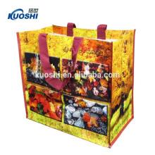 reusable plastic pp woven shopping bag