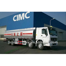 Carro de los tanques de combustible del camión de Sinotruk HOWO para la venta