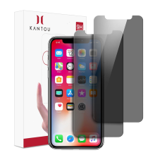 KANTOU Privacy 9H gehard glas voor iPhone X