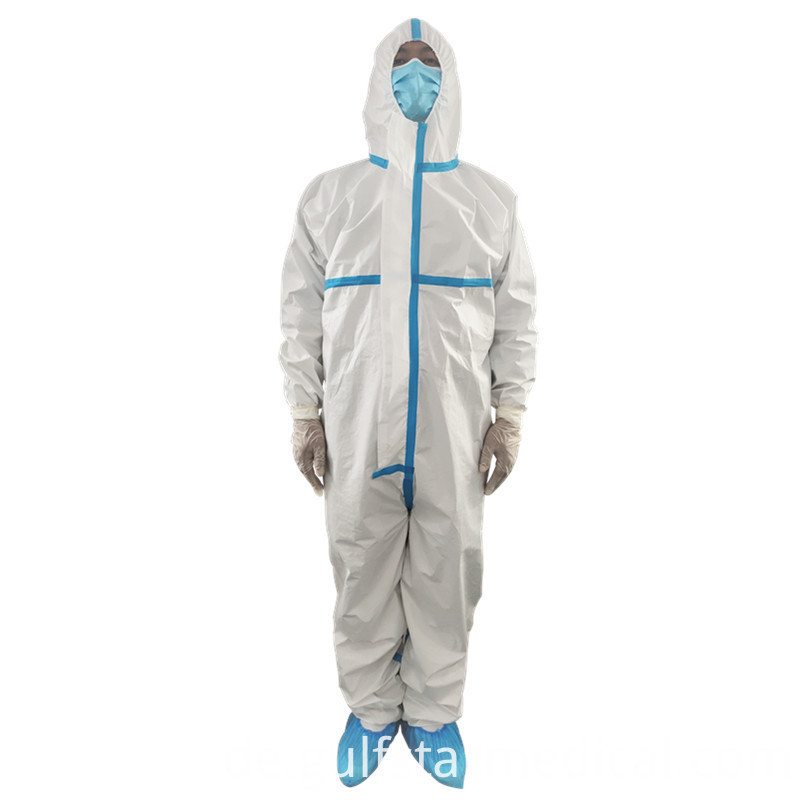 New style plastic protective suit