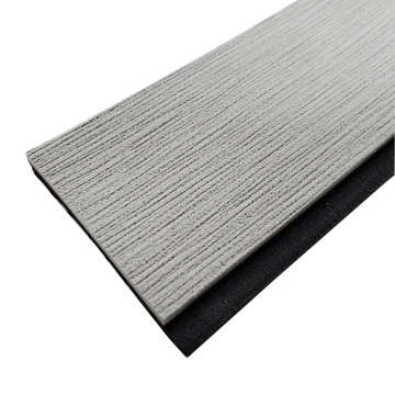 Light Gray & Black Marinha EVA Teak Teak Strip