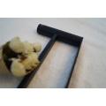 Barre de tour de serviette en acier inoxydable 304 noir de haute qualité