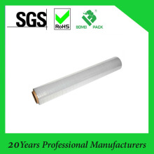 RoHS Certification Virgin Grade LLDPE Material Stretch Film Jumbo Roll of Hand Film