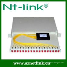 Divisor de fibra óptica 1x16 plc