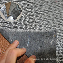 Tissu non tissé en fibre de verre utilisé pour la membrane bitumineuse SBS ou APP