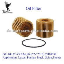 Cartucho de lubrificante de fluxo total 04152-YZZA6 para Lexus, caminhão Pontiac, Scion, Toyota