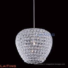 Lustres en cristal bon marché moderne pendentif lumière pour table à manger 71121