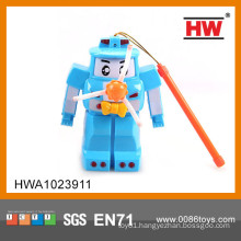 Hot sale plastic windmill toy with light and music
