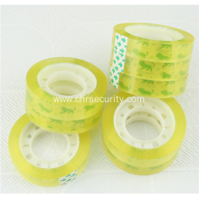 Best price weather-proof crystal clear bopp low noise tape