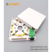 Equipamento de telecomunicações 1 Núcleo de Fibra de Soquete de Parede Divisor FTTH caxia Mini caixa de Terminal