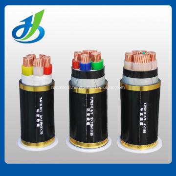 Basse tension PVC / XLPE isolé 0,6 / 1KV câble d'alimentation