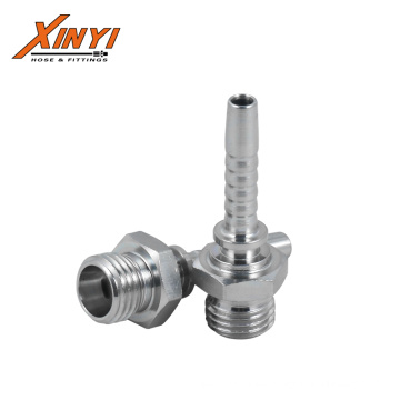 MALE METRIC THREAD HYDRAULIC HOSE FITTING 10411 STRAIGHT FITTING FOR RUBBER HOSE FITTING