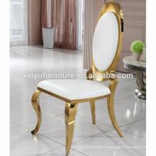 Modern design stainless steel wedding chair XYN2801