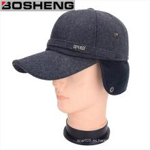 Gorra de la tapa de la barrera del oído del béisbol del invierno de los hombres