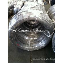 Fils en acier inoxydable 304L pour la fabrication de câbles en acier