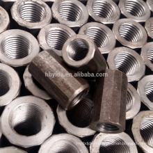 Bau-Qualitäts-Material-voller Gewinde Rebar-Koppler für Stahlbarbar