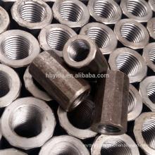 Construction High Quality Material Full Threaded Rebar Coupler for Steel Rebar