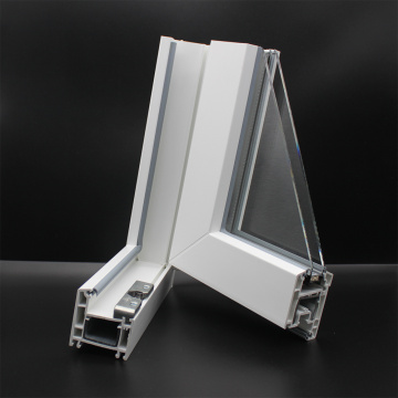 Profili UPVC serie battente da 60 mm