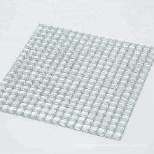 High-end Fashion White Diamond Mirror Glass Mosaic