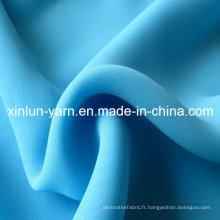 Tissu en mousseline de soie islamique Corée en mousseline de soie Types de tissu de chemisier