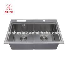 Handmade Stainless Steel SUS 304 kitchen Sink, wash basin
