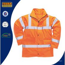 Men's Orange Hi-Vis Traffic Jacket